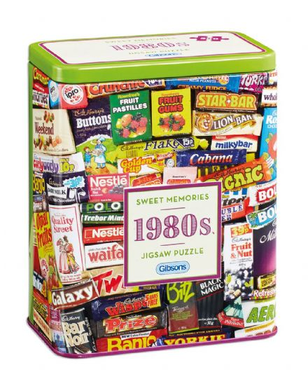 1980's Sweet Memories - 500pc Jigsaw Puzzle in a Tin